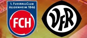 Ostalb Derby - 1. FC Heidenheim - VfR Aalen